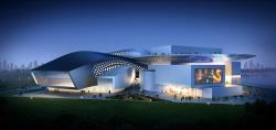 Performing Arts Center Qingdao Modern Green Architecture 5